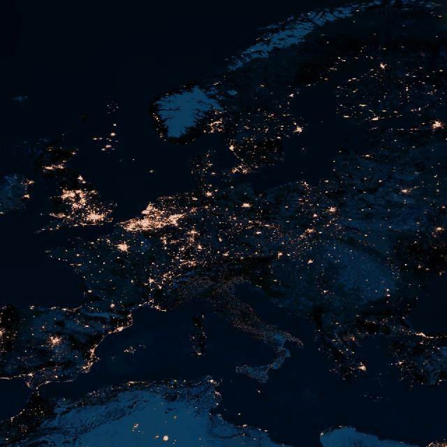 Italia al buio