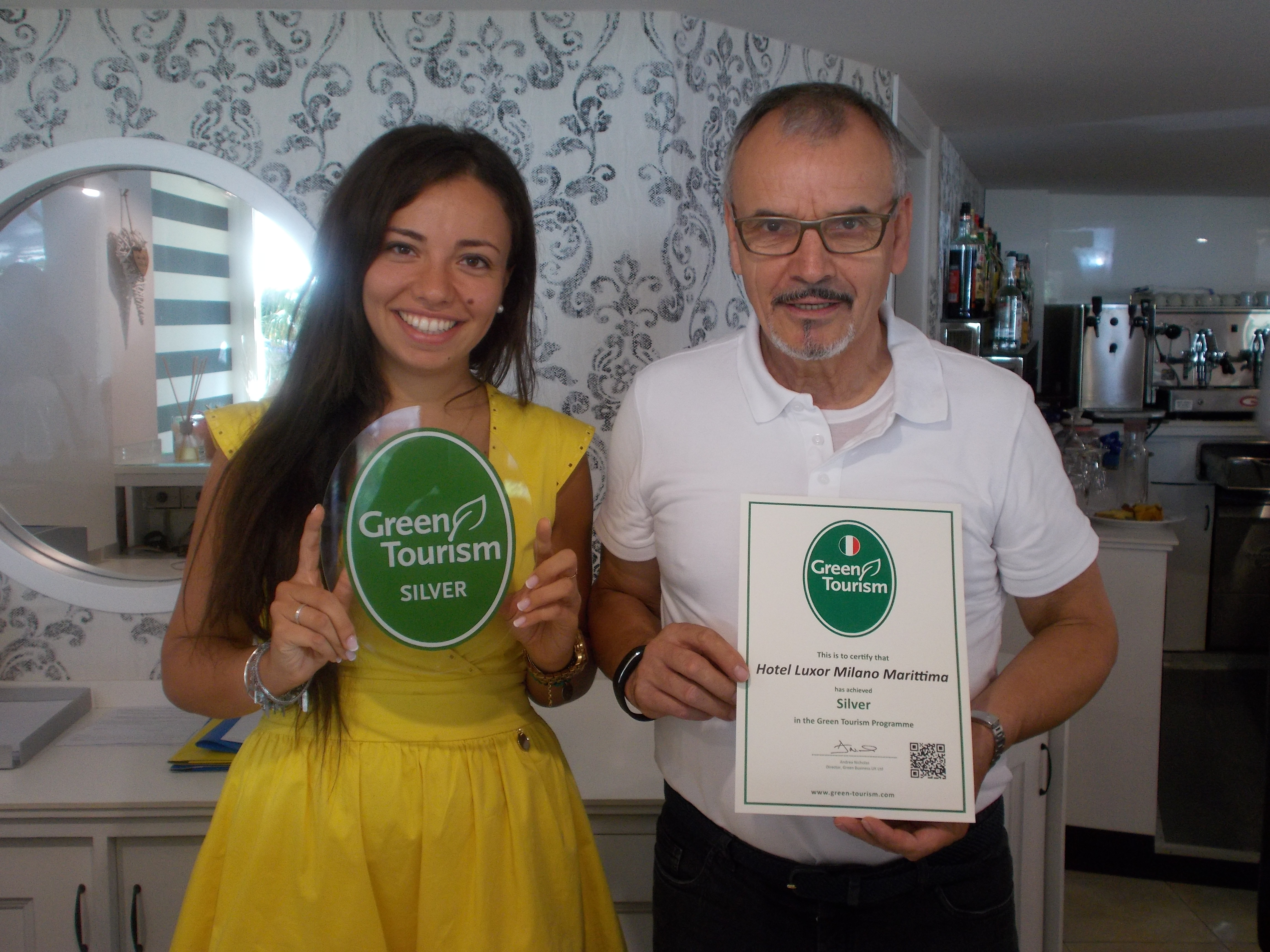 "Detergenti Ecologici : Le strutture ""green di romagna l hotel luxor milano"